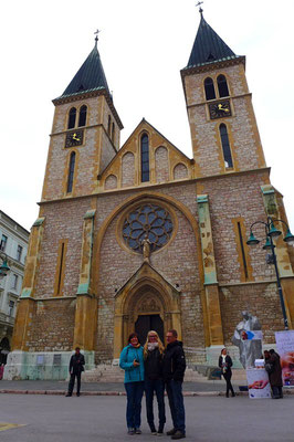 Sacred Heart Kathedrale (katholisch) in Sarajevo
