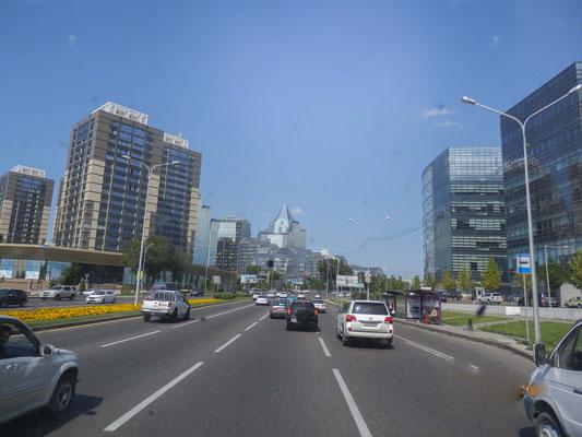 eine moderne Stadt