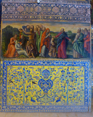 In der Verzierung merkt man jedoch den Einfluss der islamischen Welt.