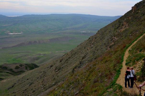 Blick auf Azerbaidschan.