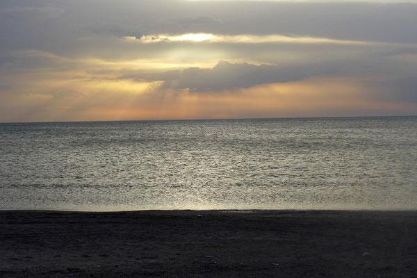 Außerdem genießen wir hier nochmal einige Tage am Meer!