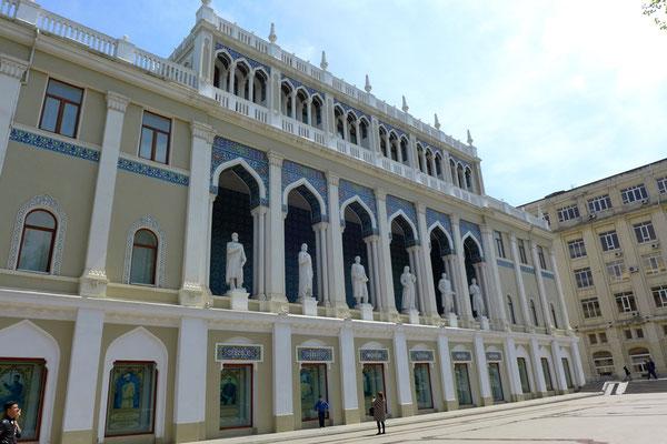 Historische Gebäude findet man hauptsächlich im Stadtzentrum.