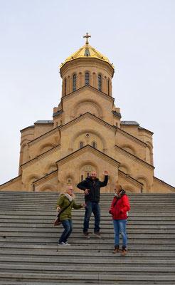 Natürlich haben wir uns die Kathedrale auch aus der Nähe angeschaut.