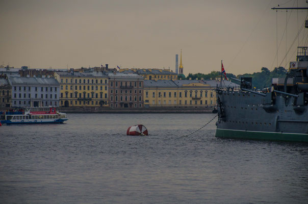 With this ship the russian marine came to St. Petersburg in februar 1917.