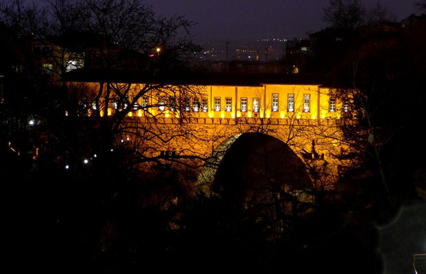 The Irgandi-bridge in Bursa.