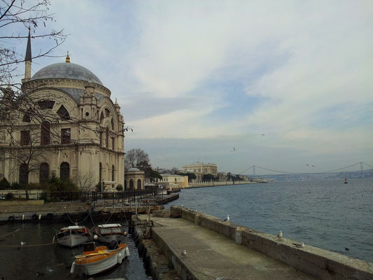 The palace of Dolmabahce