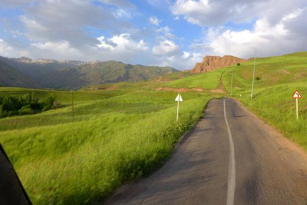 way through Alamut valley