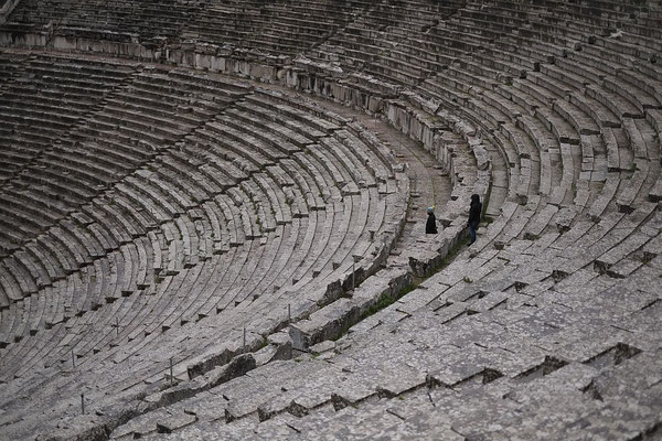 Theater in Epidauros. Seats for 14.000 visitors and stunning acoustics.