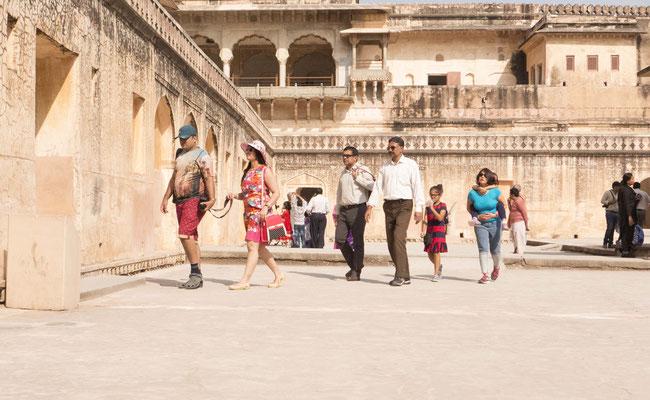 Zur Zeit der Mogul lebte hier die Familie des Maharaja.