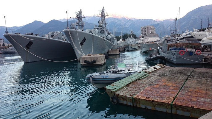 2 of 8 vessels who will eventually support NATO...