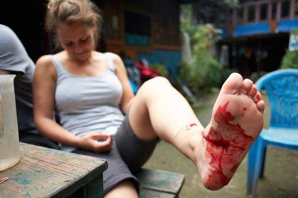 Blutekel wollten Mr. Mo fressen, aber Nicoletta hat sie gerettet ;-)