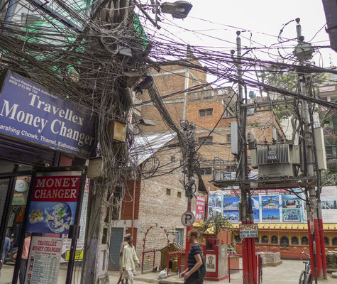 and electricity in Kathmandu.