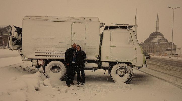 Wir haben Schnee gefunden :)