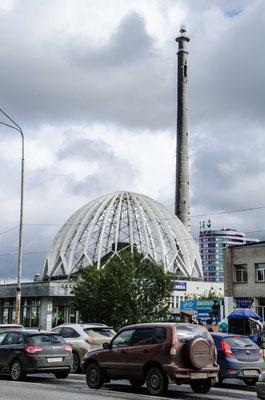 Der unvollendete Fernsehturm von Jekaterinburg