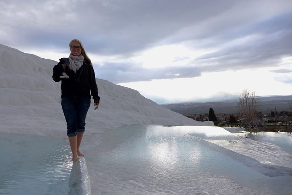 Pamukkale is an amazing place to see.