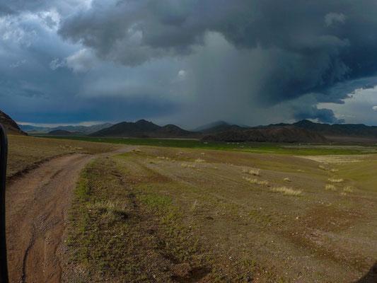 Die Weiten der Mongolei sind schier unendlich.