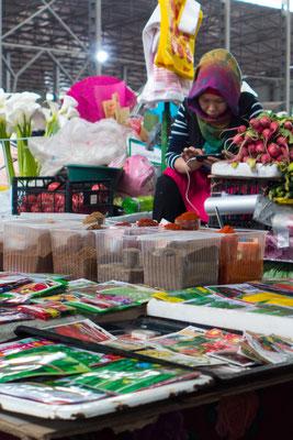 Der Bazar in Bishkek ist einer der größten in ganz Zentral Asien.