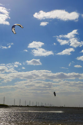...while I was jallous for the kitesurfing.