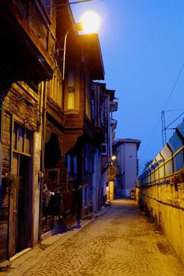 Innerhalb der Stadtmauern von Istanbul