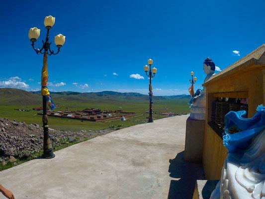 so wie im Kloster Amarbayasgalant.