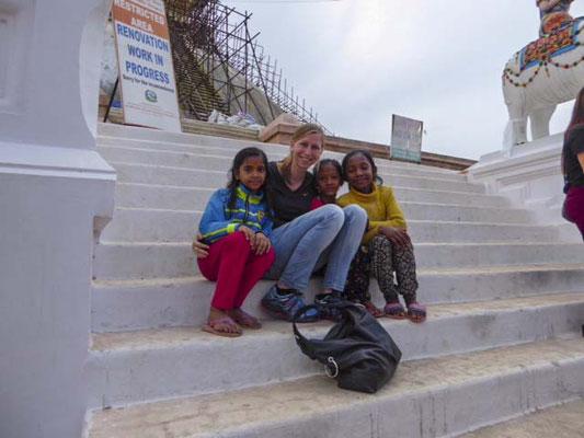 Einer der größten Stupas des Landes.