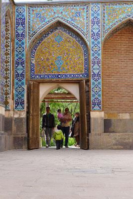 Der Mausoleumskomlex in Ardebil.