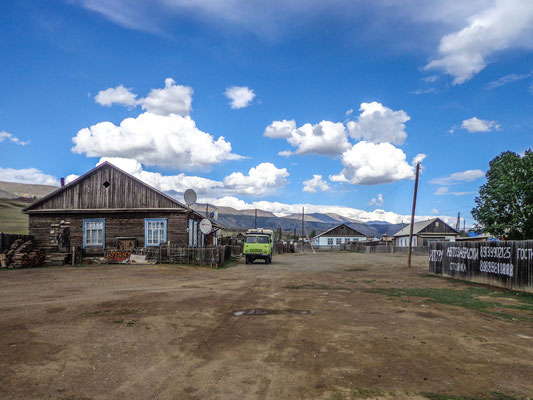 The siberian villages are not that modern,