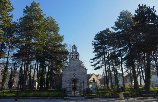 Why the capital was moved away from the beautiful Cetinje is vague again.