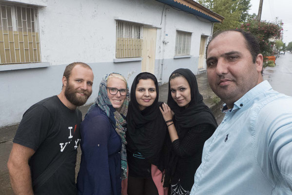 Jalal und seine Familie kümmern sich  bestens um uns.