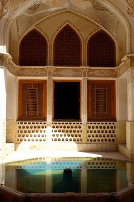Ein altes Herrenhaus in Kashan. Hier konnte man es aushalten.