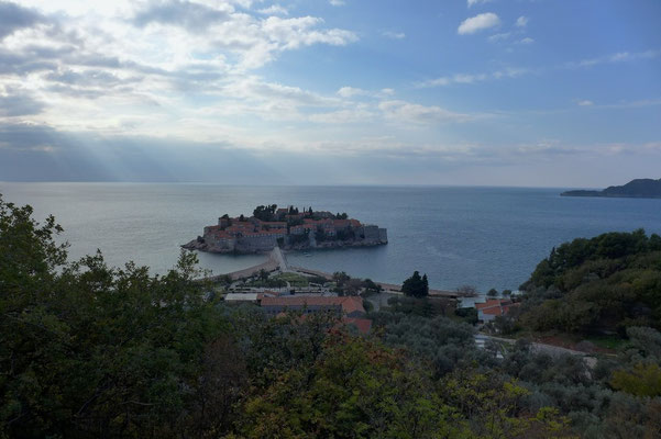 The coastline close to Kotor.