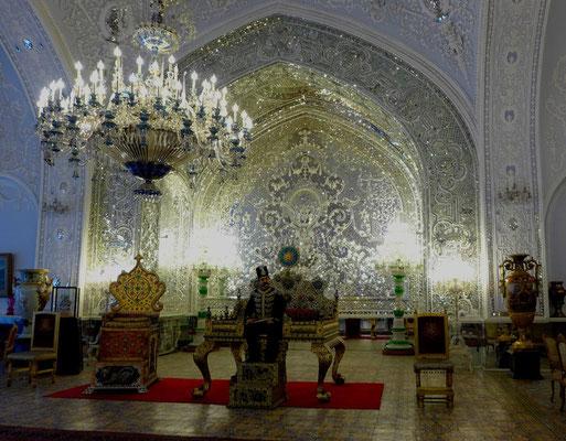 Der Golestanpalast wurde bis zur Revolution für offizielle Anlässe genutzt.