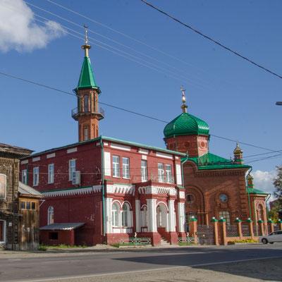 In dieser Moschee wurde zu Zeiten der Sowjetunion Schnaps gebrannt...