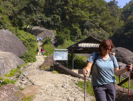 der Weg zurück ins Kathmandu - Tal
