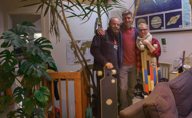 ...we reached our couchsurfing host in Basel. Thanks John!