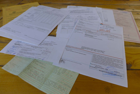 The paperwork.