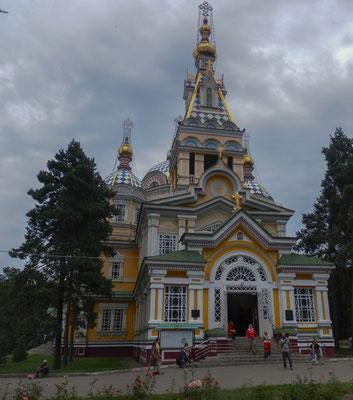 Zenkov Kathedrale in Almaty