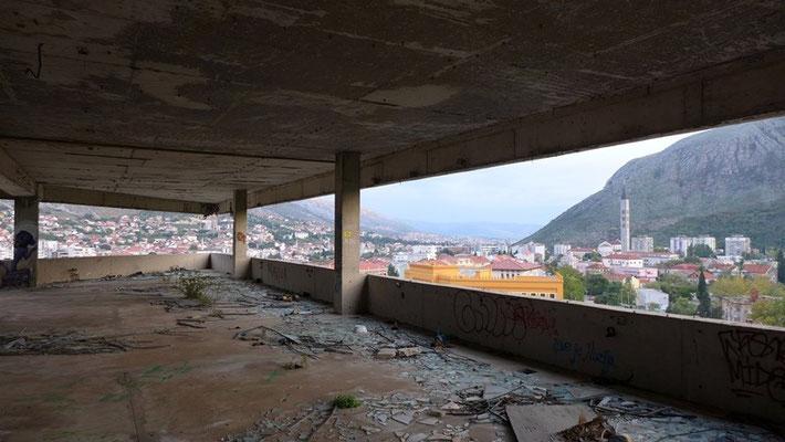 """Auch das """"Glashaus"""" wurde während dem Krieg zerstört."""