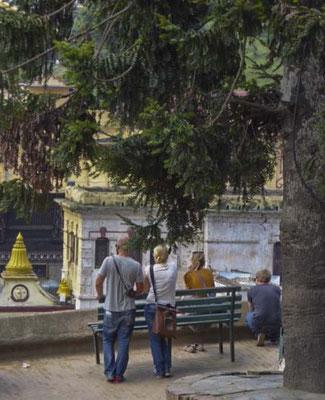 Wir sind beeindruckt von Pashupatinath...