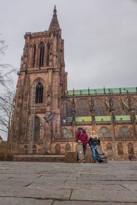 150km... We really did make it to Strasbourg!!!