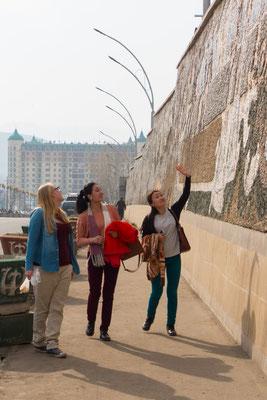 Beim Arka findet man viele historische Bilder.