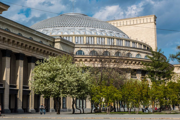 The largest Balet theater in Russia...