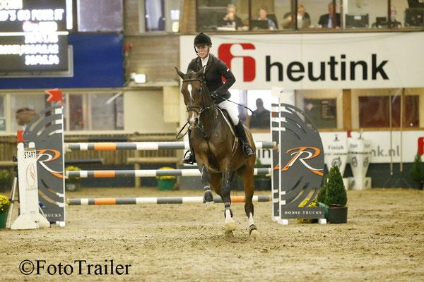 Angelique Hoorn werd 1 en 3 op Guapa