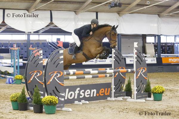 L-winnares Marjolijn Stam met Eros M (v. Sam R)