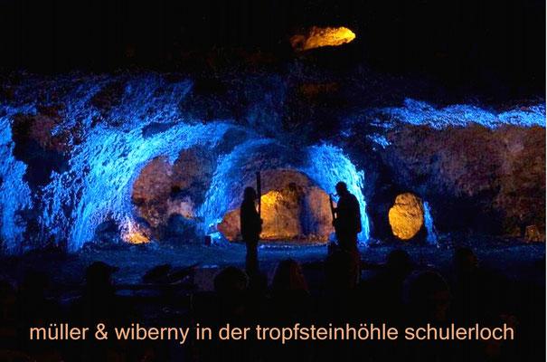 Colors of Sounds im Schulerloch (Günter Müller & Heiner Wiberny)
