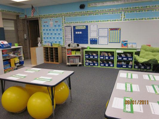 ejemplos de salas con estética limpia profesores aula360