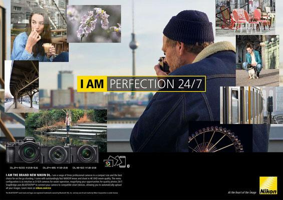 Kunde: Nikon /Agentur: Jung von Matt Spree/Fotograf: Cecil Arp