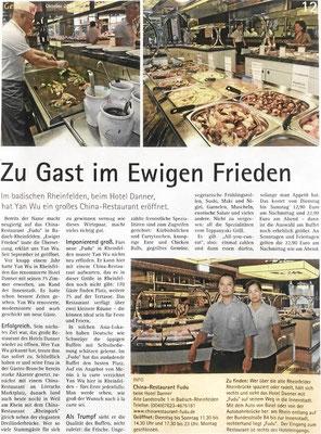 Oberbadische Zeitung, Gewusst wo, Oktober 2018