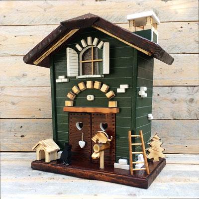 cassetta della posta da esterno in legno