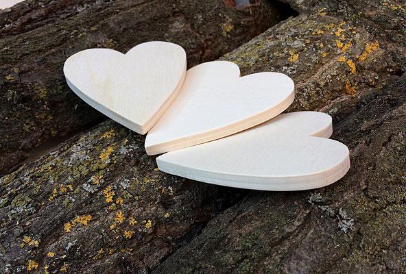 Sagoma cuore in legno